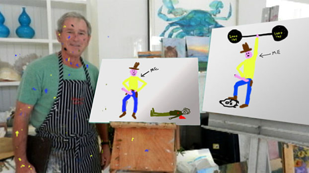George W. Bush paintings