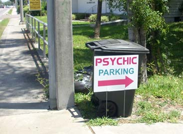 Psychic parking in Jacksonville